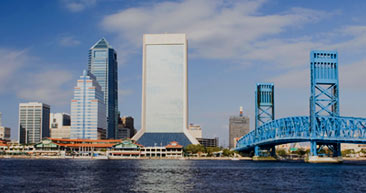 take in the scenic jacksonville cityscape