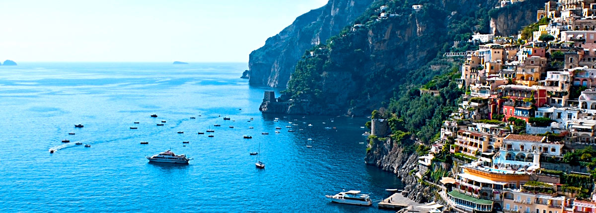journey to the beautiful city of positano along the amalfi coast