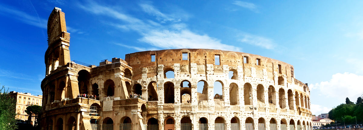 visit the famous colosseum in rome