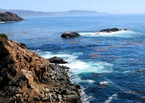 rocky coastline in ensenada