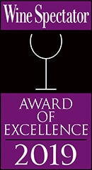 2019 Wine Spectator Award of Excellence