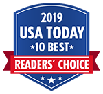 2019 USA Today 10Best Reader's Choice Award logo