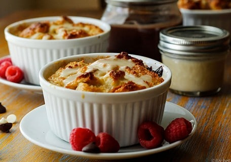 Bitter & Blanc Bread Pudding