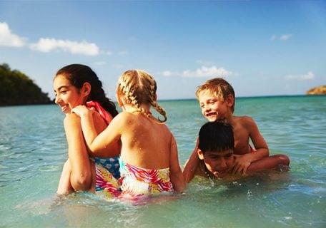 Beaches for kids banner