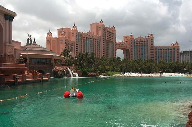 watersports in atlantis