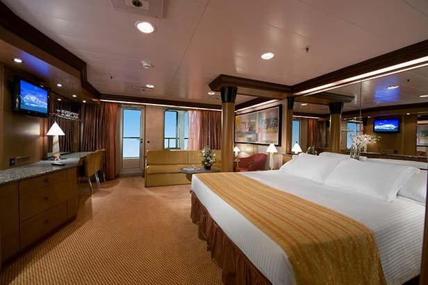 carnival penthouse suite