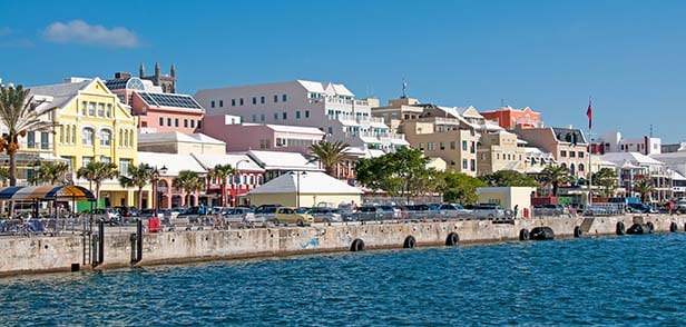the buildings in bermuda