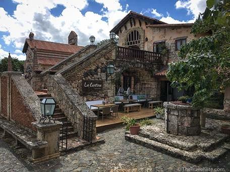 La Cantina restaurant in La Romana, Dominican Republic
