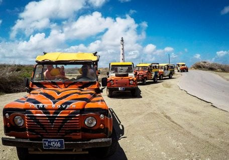 Aruba's North Coast Jeep Safari Adventure