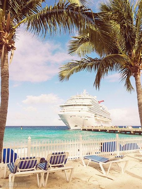 Carnival Vista docked in Grand Turk