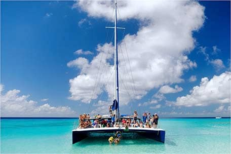 Catamaran cruise on the island of Grand Turk