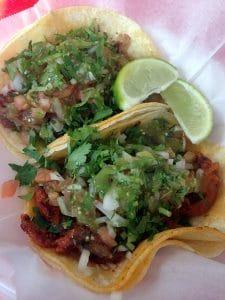 authentic mexican al pastor tacos