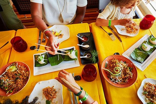 jiji asian food spread