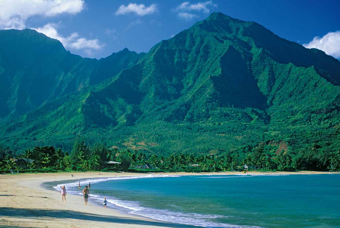 kauai beach in hawaii