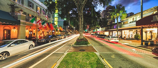 las olas boulevard in fort lauderdale, florida