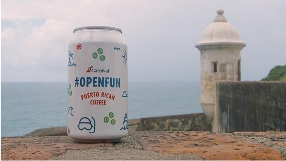 carnival openfun puerto rican coffee at castillo san cristóbal in San Juan