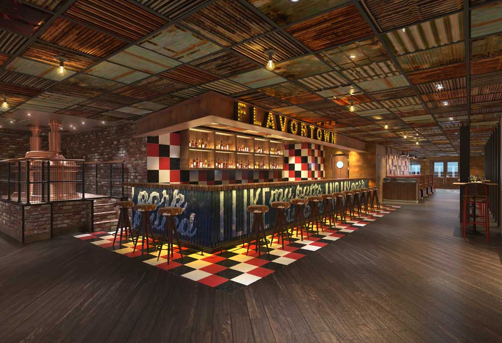 guy's pig & anchor bar-b-que smokehouse brewhouse on carnival horizon