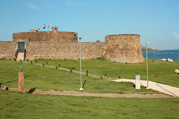 san felipe fortress in puerto plata, dominican republic