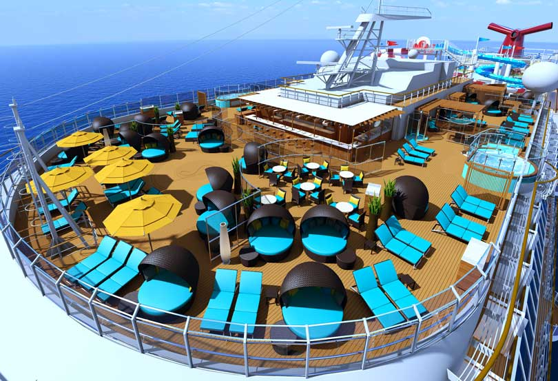 serenity adult only retreat on carnival horizon