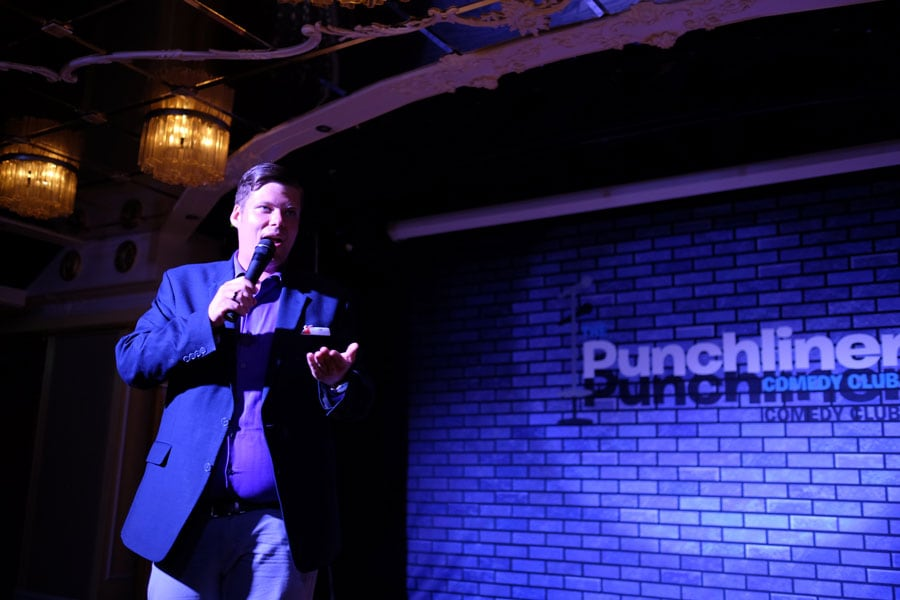 Punchliner comedian