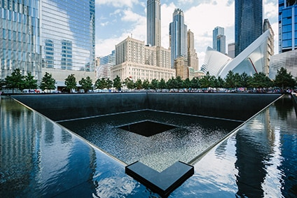 9/11 memorial site in manhattan