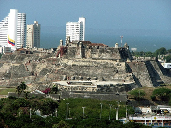 Fort of San Felipe de Barajas, Cartagena Colombia
