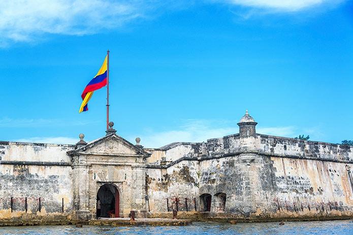 Fort San Fernando de Bocachica, Cartagena Colombia