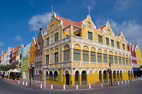 Penha Building in Willemstad Curacao