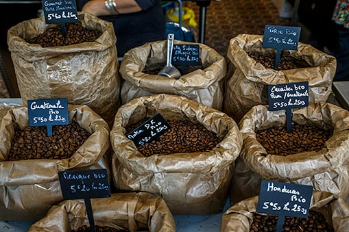 bags of coffee beans for sale