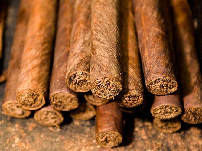 hand made cigars from mahogany bay