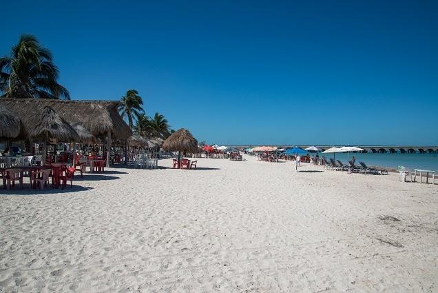 playa telchak in yucatan