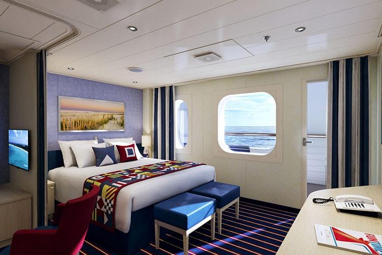 family harbor suite in carnival horizon