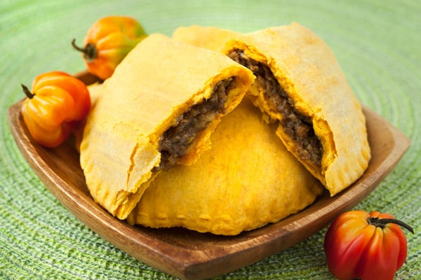 traditional jamaican beef patties from ocho rios