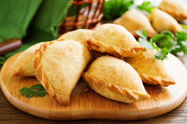 empanadas or panades from belize