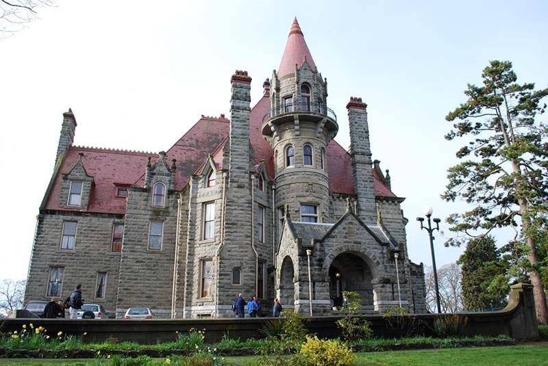 craigdarroch castle in victoria, bc, canada