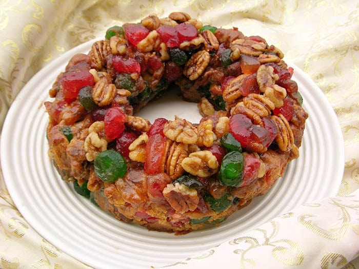 christmas fruit cake from grand cayman made with rum