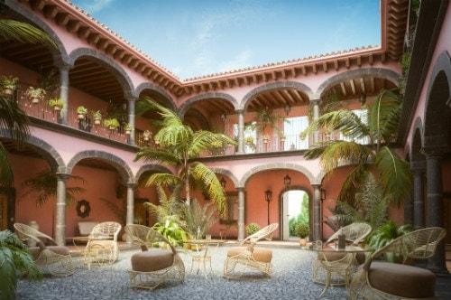 authentic 2-story mexican hacienda in near puerto vallarta