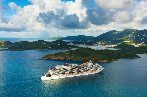 carnival vista cruising to a new caribbean destination