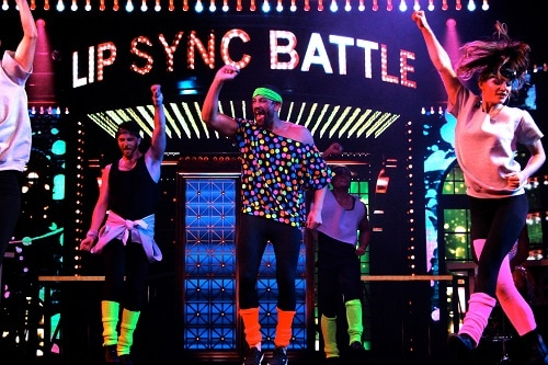 lip sync battle carnival participants performing