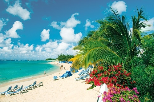 sunray beach in grand turk