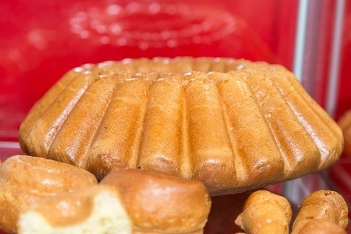 fresh rum cake made in bermuda