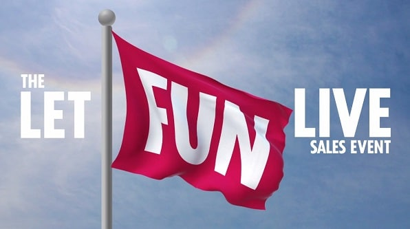 carnival's let fun live sales event