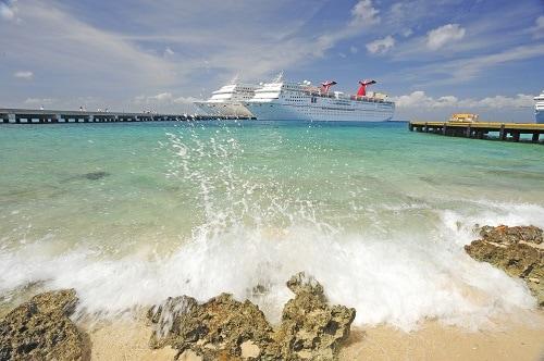 carnival ships docked in cozumel