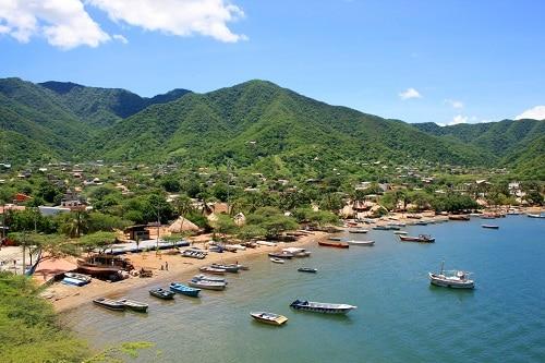 beach of santa marta