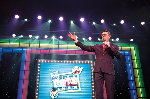 the host of hasbro the game show