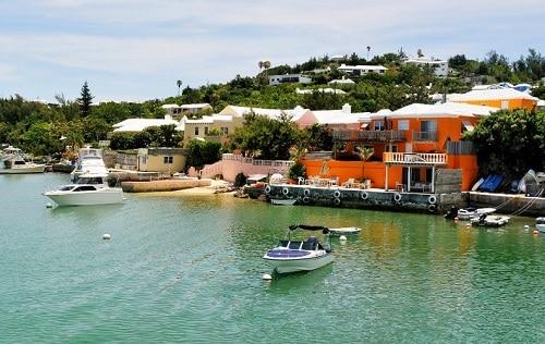the coast of bermuda
