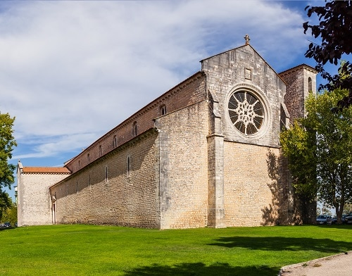 an outside view of the santa clara convent