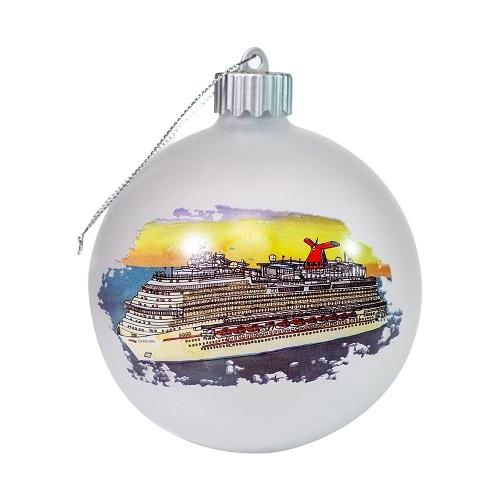 carnival merry bright ornament
