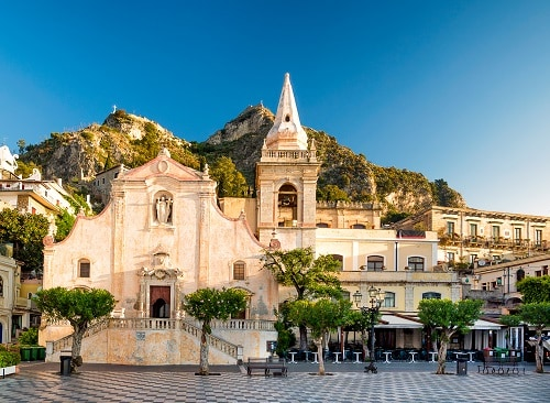 church of san giuseppe in taormina