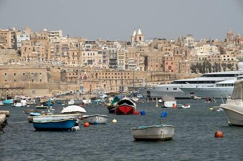 the port of valletta malta